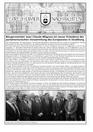Bürgermeister Jean Claude Mignon ist neuer Präsident ... - Eppelheim