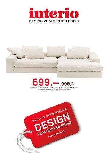 Design Zum Besten Preis - Interio