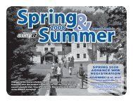 Spring Summer 2008 Course Schedule - SUNY Institute of Technology