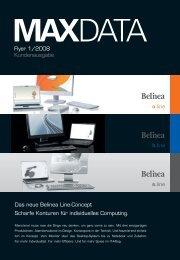 Flyer 1/2008 Kundenausgabe Das neue Belinea Line ... - Maxdata