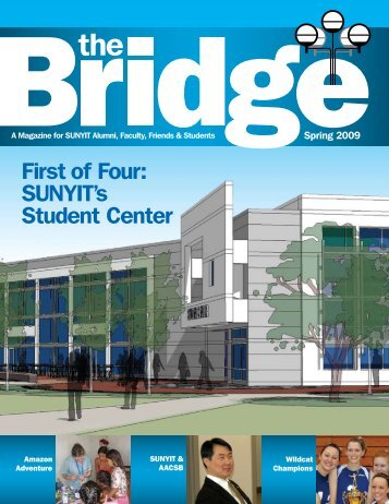 First of Four: SUNYIT's Student Center - SUNY Institute of Technology