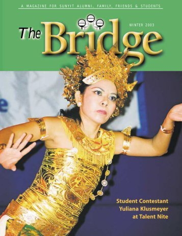 Bridge (Spring 2001) - SUNY Institute of Technology