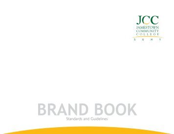 JCC Brand Book (PDF) - Jamestown Community College