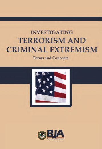 Investigating Terrorism and Criminal Extremism - Bill St. Clair's ...