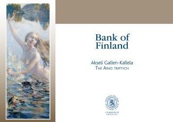 Akseli Gallen-Kallela - Suomen Pankki