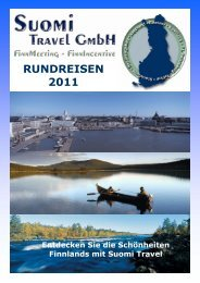 RUNDREISEN 2011 - Suomi Travel