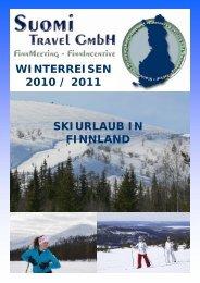 winterreisen 2010 / 2011 skiurlaub in finnland - Suomi Travel