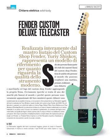 Fender Custom DeluxeTelecaster.pdf - Suoni e strumenti