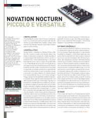 NOVATION NOCTUrN PICCOLO e VerSATILe - MidiWare