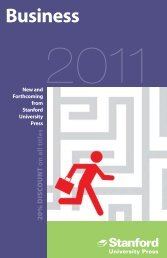 Business 2011 - Stanford University Press