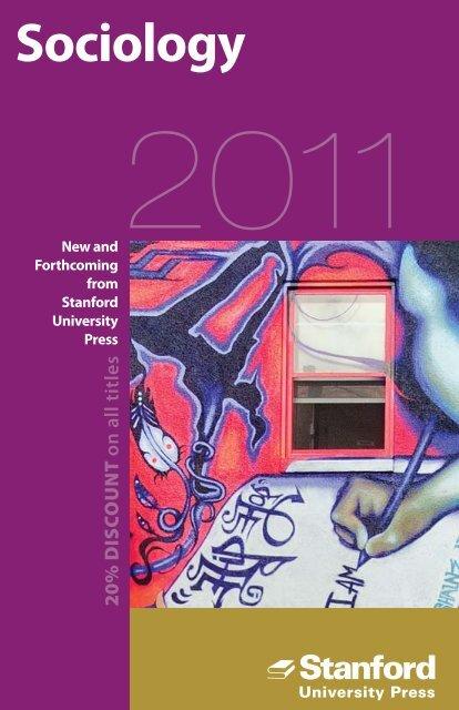 Sociology - Stanford University Press