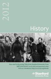 History - Stanford University Press