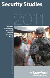 Security Studies - Stanford University Press