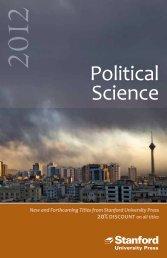 Political Science - Stanford University Press