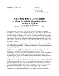 Guarding Life's Dark Secrets - Stanford University Press