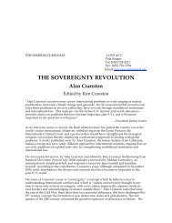 THE SOVEREIGNTY REVOLUTION - Stanford University Press