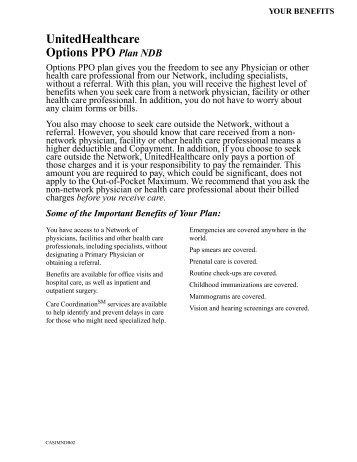 UnitedHealthcare/Oxford: Direct Liberty - HealthPass.com