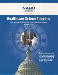 Health Care Reform - Summary of Implementation by ... - SuperAgent