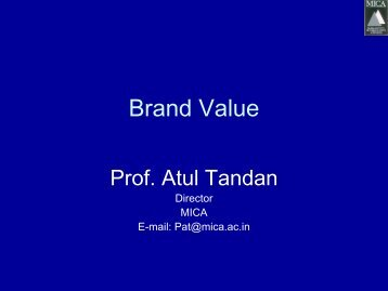 Brand Value - Superbrands