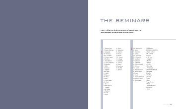 08 The Seminars - Universidad del País Vasco