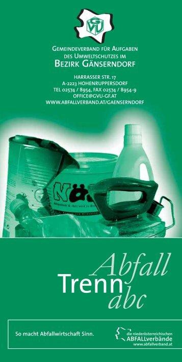 Abfall abc