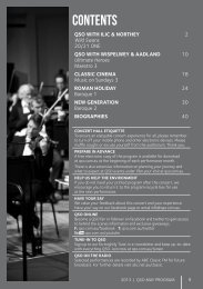 May 2013 - Queensland Symphony Orchestra