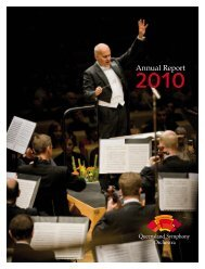 2010 Annual Report - Queensland Symphony Orchestra