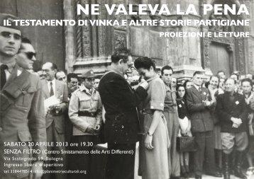 Ne valeva la pena.pdf - Comune di Bologna