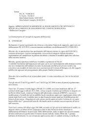 Modifiche regolamento tassa soggiorno.pdf - Comune di Bologna