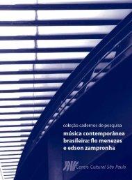 Música Contemporânea - Centro Cultural São Paulo