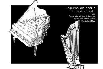 folder peq dicionario.pmd - Centro Cultural São Paulo