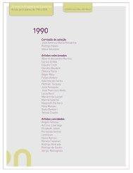 Clique aqui para a Lista de Artistas participantes de 1990 a 2010