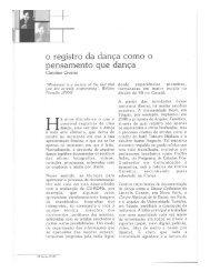 e registre da dança ceme e - Centro Cultural São Paulo