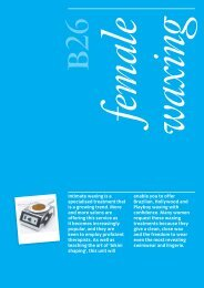 Beauty Therapy B26 Optional Unit - City & Guilds