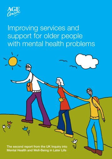 Improving services and support for older people with mental health ...