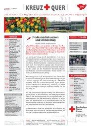 Kreuz und Quer, 15.04.2008, Ausgabe 40 - Drk-Kreisverband ...