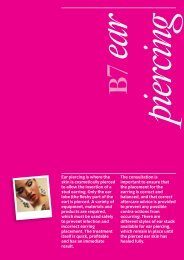Beauty Therapy B7 Optional Unit - City & Guilds