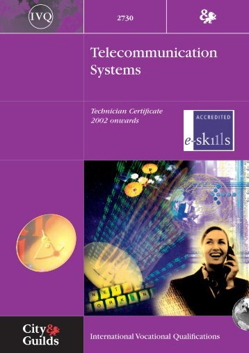 Telecommunication Systems - City & Guilds