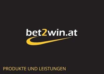 bet2win.at - Produkte und Leistungen