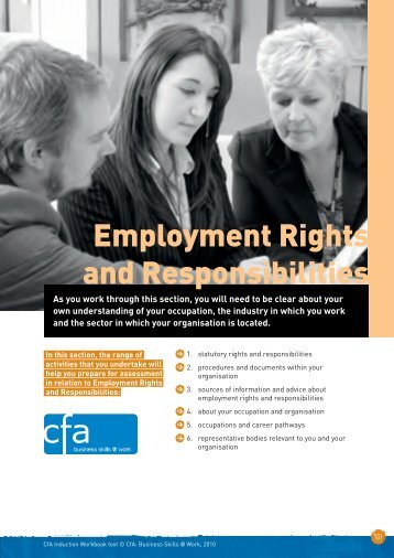 Employment Rights and Responsibilities - City & Guilds