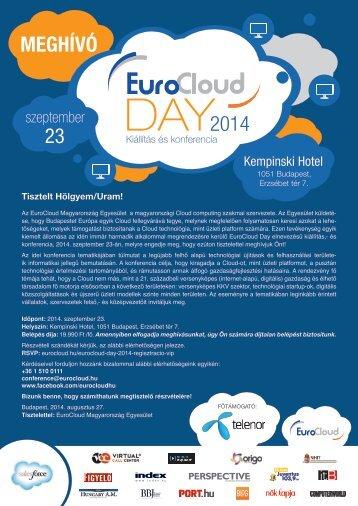 EuroCloud Day 2014 Budapest Hungary
