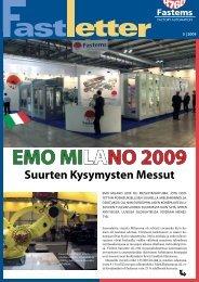 EMO MILANO 2009 Suurten Kysymysten Messut - Fastems