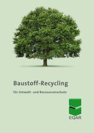 Baustoff-Recycling – für Natur - European Quality Association for ...