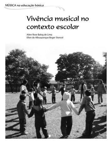 Vivência musical no contexto escolar - ABEM