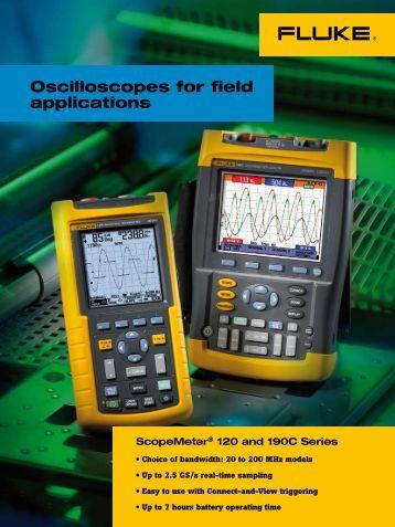 Oscilloscopes for field applications - Distek