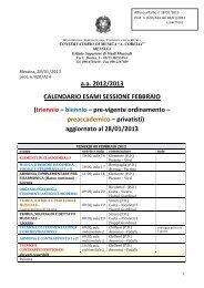 Unisa Calendario Esami.Calendario Degli Esami Sessione Invernale 2013
