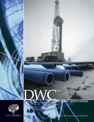 DRILLING WITH CASING - OilProduction.net