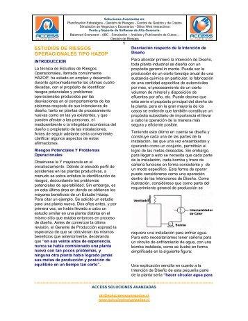 estudios de riesgos operacionales tipo hazop - OilProduction.net