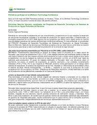 Petrobras participó en la Offshore Technology ... - OilProduction.net