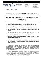 Repsol-YPF. Plan Estratégico a 2012 - OilProduction.net